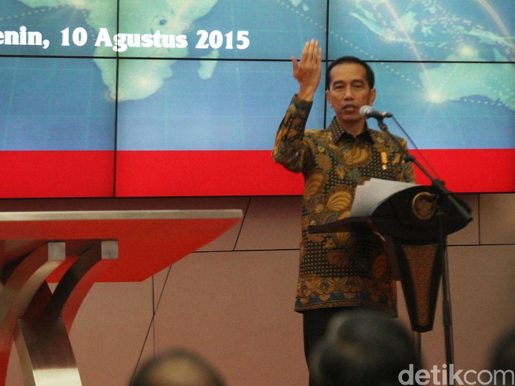 Soal Calon Tunggal di Pilkada, Jokowi: Tunggu Sampai Terakhir