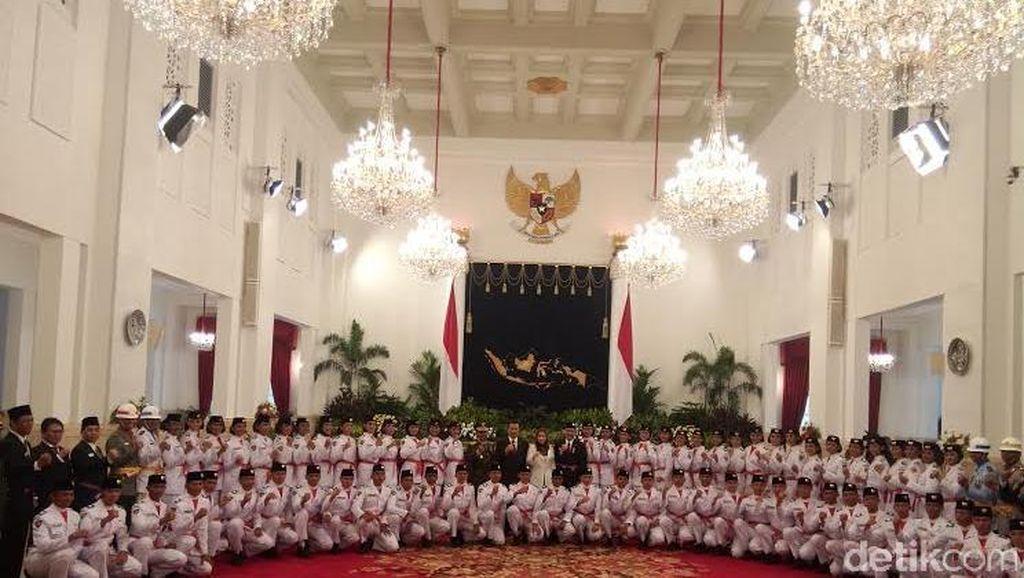 Ini Dia 68 Pasukan Pengibar Bendera Pusaka Upacara Kemerdekaan