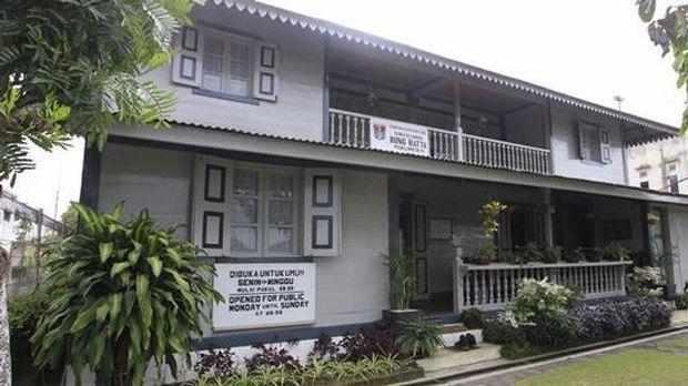 Rumah masa kecil Bung Hatta di Bukittinggi, Sumatera Barat.