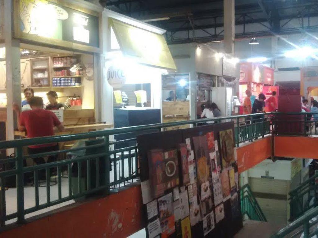 Kondisi Pasar Santa Kian Sepi Pengunjung, Ahok Bakal Usir Pemilik Kios Nakal