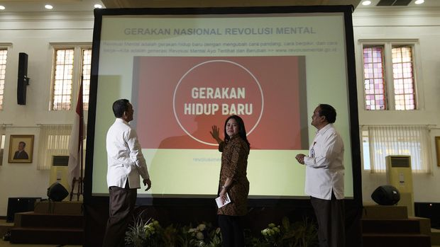 Mencari 'Revolusi Mental' yang Hilang dari Pidato Jokowi