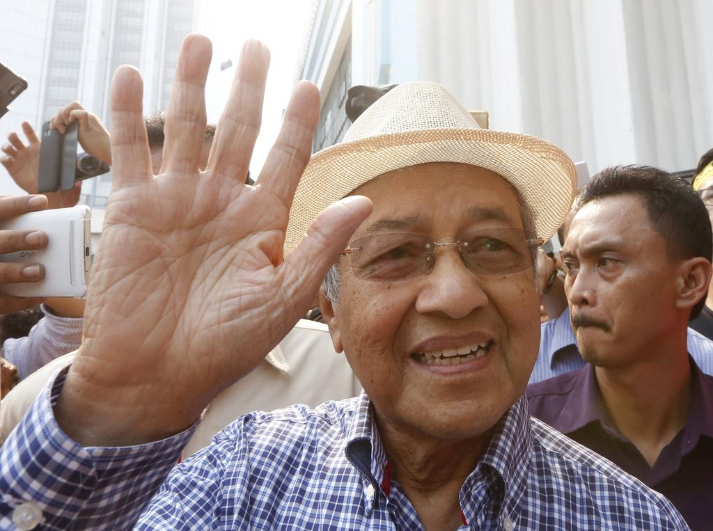 Sosok Mahathir Mohamad, Politikus Gaek yang Mengundurkan Diri