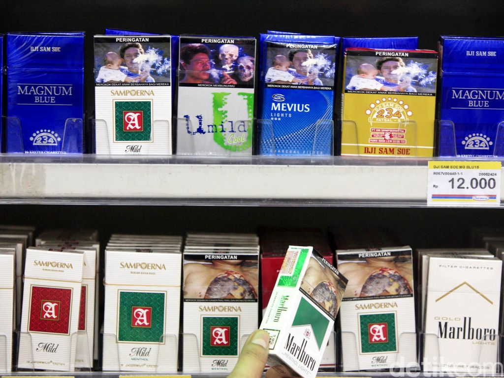 BPS Temukan Harga Rokok Sudah Naik di 50 Kota