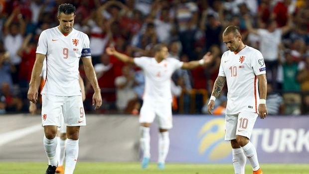 Wesley Sneijder jadi salah satu pemain terbaik yang pernah dimiliki timnas Belanda.