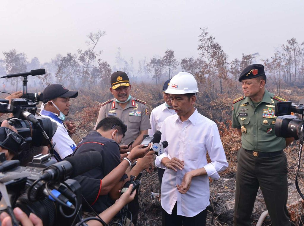 Ahli IPB: Di Era Jokowi Karhutla Ditangani Serius