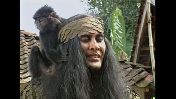 Sinetron 'Si Buta Dari Gua Hantu' yang sempat populer di televisi.