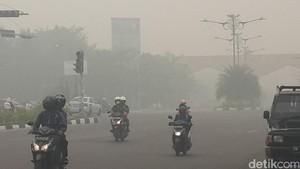 Riau Darurat Asap, Ini Penampakan Parah Pekanbaru