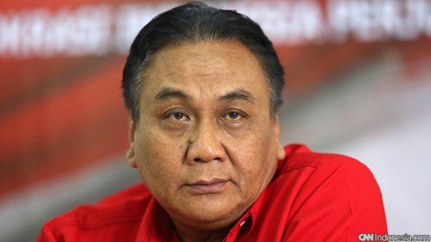 Bambang Wuryanto anggota DPR RI dari fraksi Partai Demokrasi Indonesia. CNN Indonesia/Safir Makki