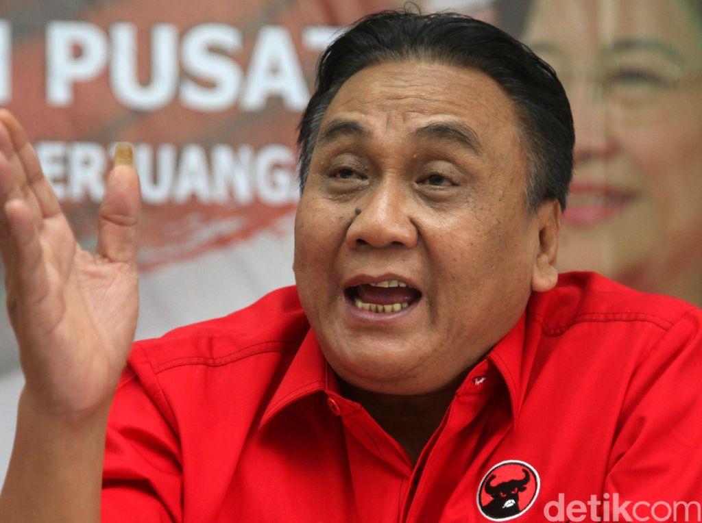 Airlangga-Idrus Rangkap Jabatan, PDIP: Jokowi akan Berlaku Adil