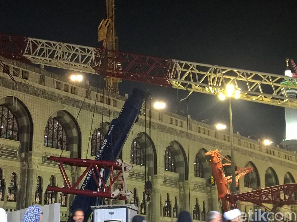 Pengadilan Makkah Hentikan Kasus Crane Roboh di Masjidil Haram