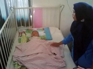 Kasihan, Bayi 5 Bulan Ditinggal Kabur Orang Tua dari RSUD Blambangan