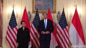Menlu Retno Bertemu Menlu John Kerry Bahas Kedatangan Presiden Jokowi ke AS