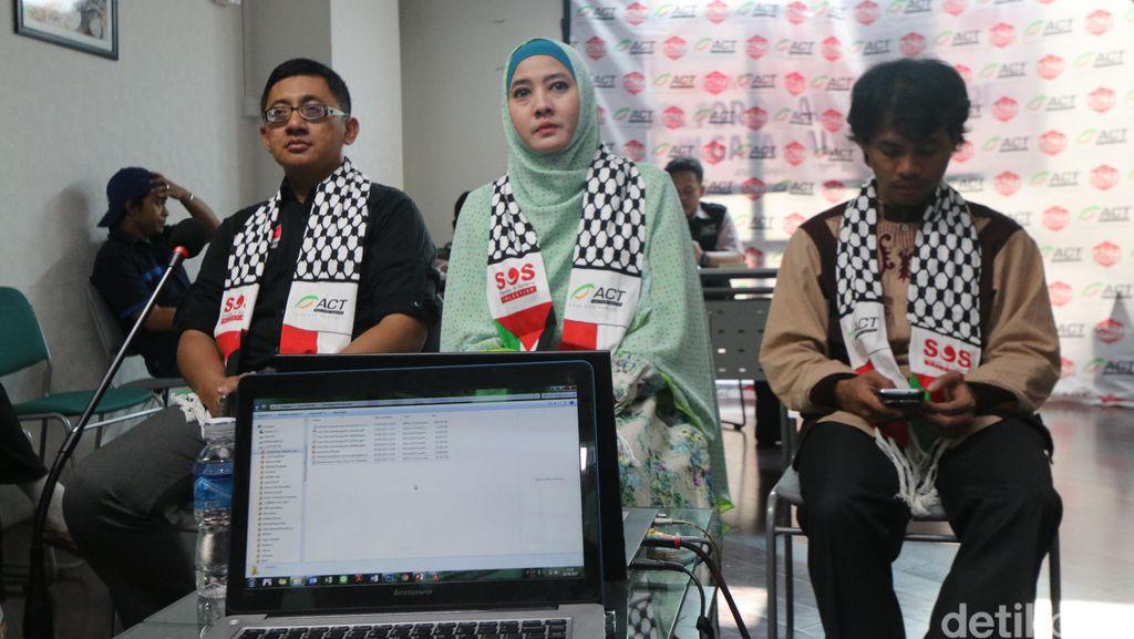 Peggy Melati Sukma Resmikan Sekolah Difabel di Gaza