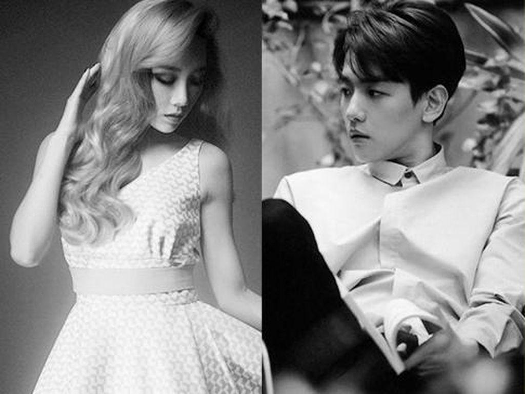 Rumor Taeyeon dan Baekhyun Pacaran Kembali Muncul