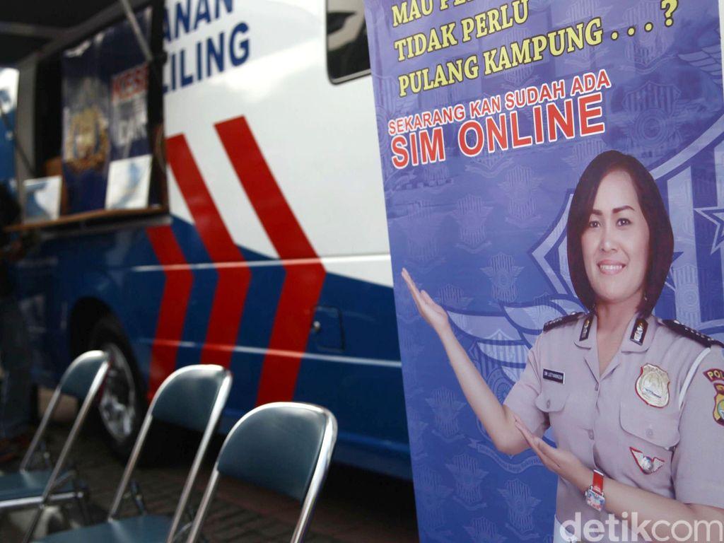 Korlantas Polri Luncurkan Aplikasi Registrasi SIM Online Pagi Ini