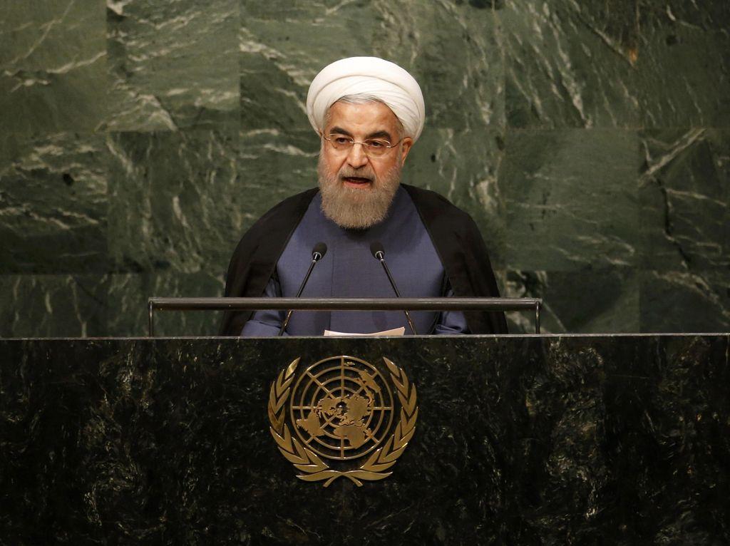 Presiden Iran Soal Demo: Boleh Protes tapi Tak Pakai Kekerasan