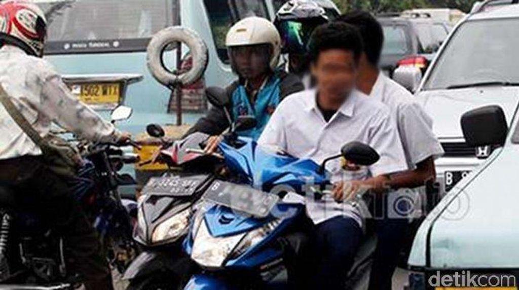 Yuk, Jauhkan Anak-anak dari Sepeda Motor