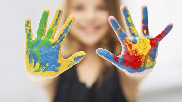 Ilustrasi anak kreatif