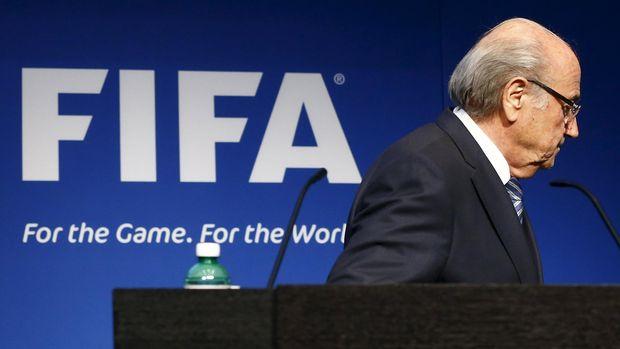 Sepp Blatter memimpin FIFA selama 17 tahun.