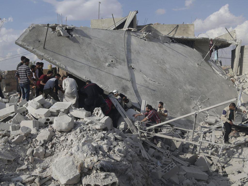 AS Sebut Serangan Udara Rusia di Suriah Malah Menguntungkan ISIS