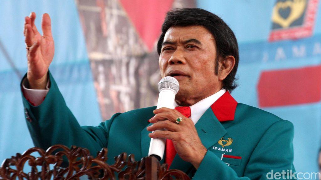 Lantik Pengurus 18 DPW Partai Idaman, Rhoma Irama Singgung Soal Teroris