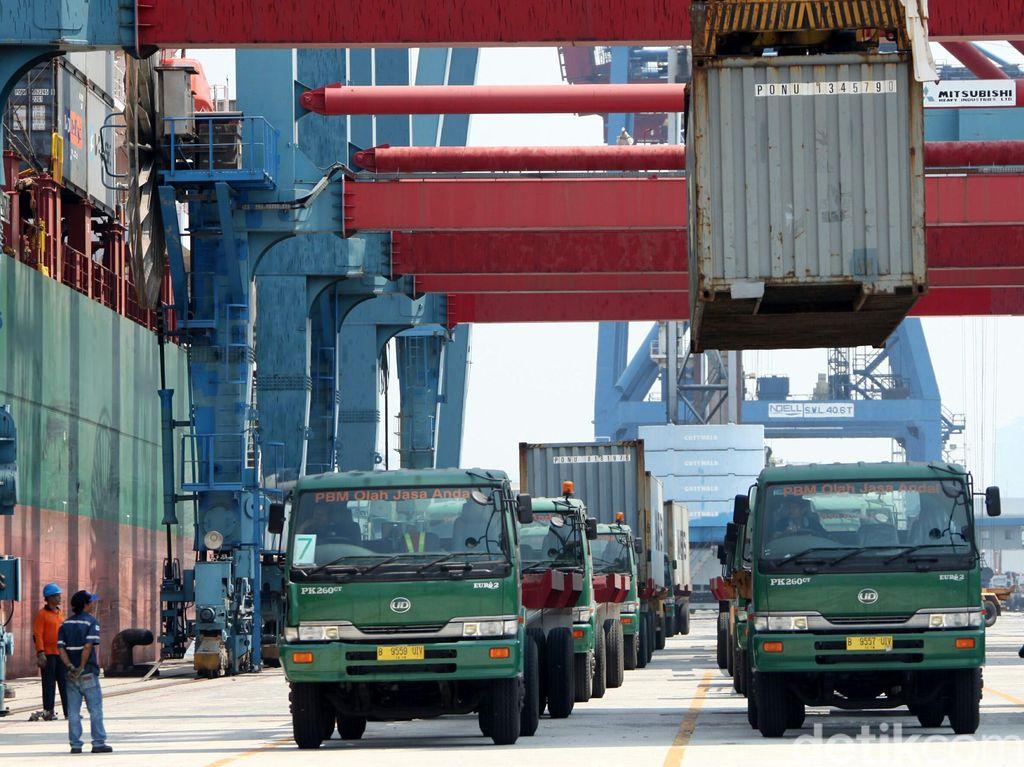 Ekonomi Global Melambat Bikin Ekspor RI Susah Lari Kencang