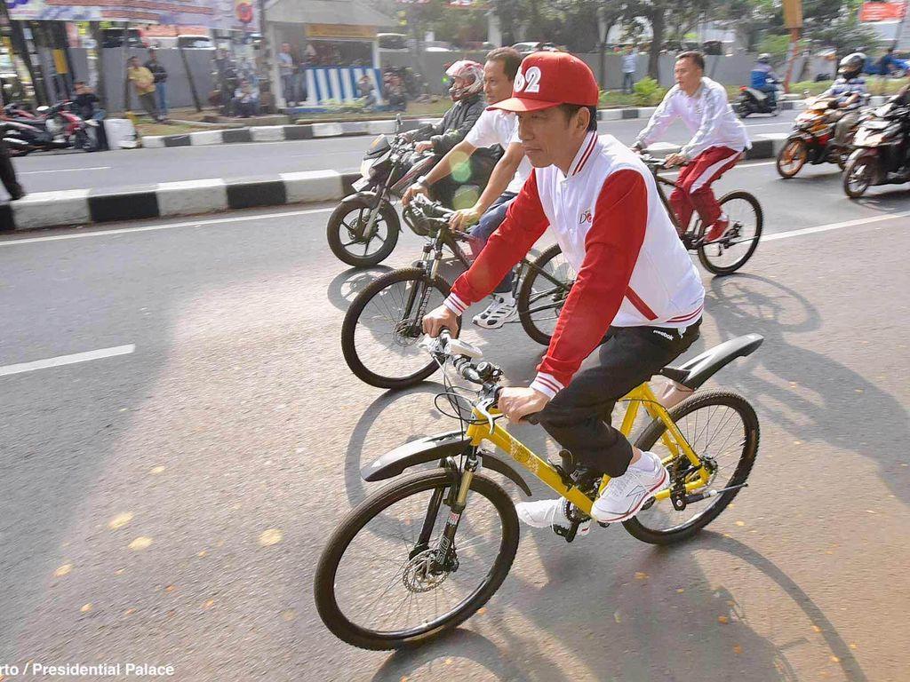 Selamat Ulang Tahun Pak Jokowi, Yuk Tiru Gaya Hidup Sehatnya