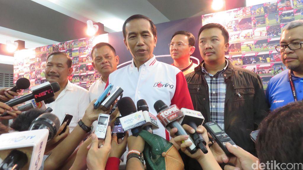 Pesan Jokowi Tentang Sepak Bola yang Mempersatukan!