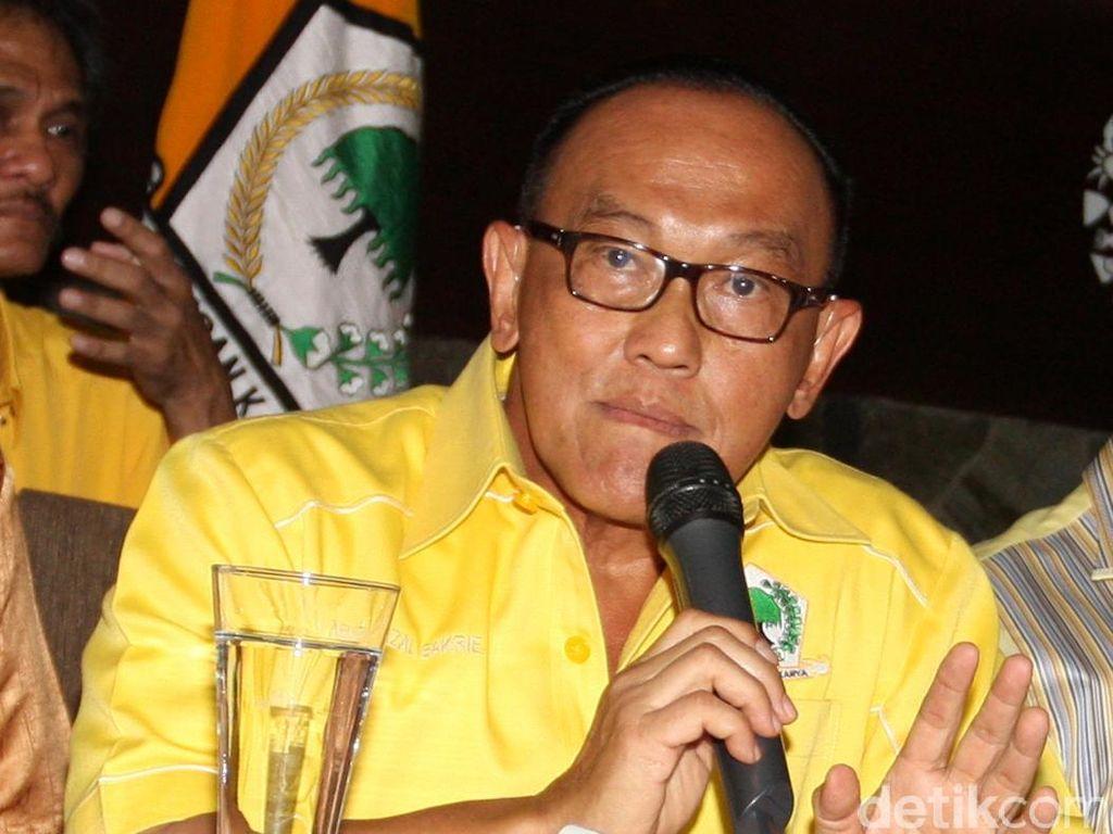 Aburizal Bakrie Dukung Aziz Syamsudin Jadi Ketua MPR