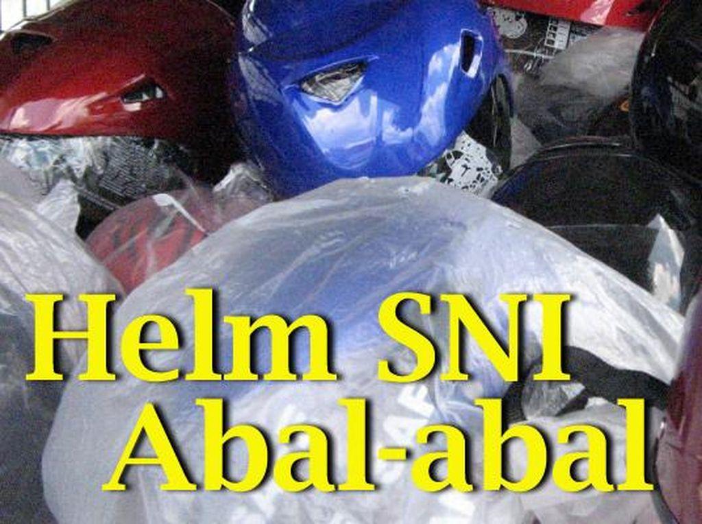 Duh, Masih Banyak Pemotor Indonesia Pakai Helm Tak Sesuai Standar Keamanan