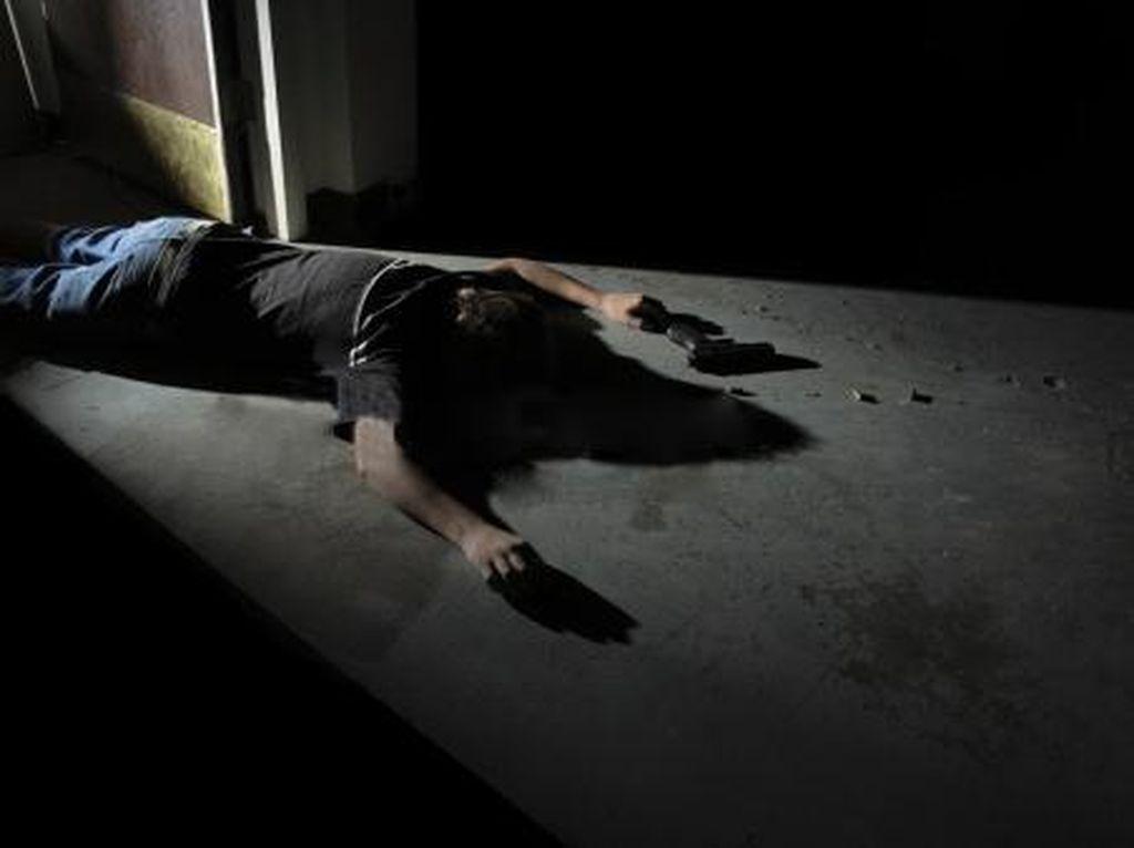 Kisah Tragis Ayah Bunuh Anak Kandung Diduga Halusinasi Kena Corona