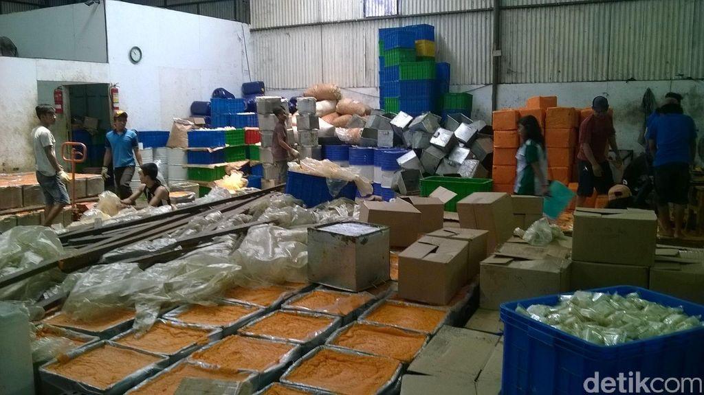 Balai POM Serang Gerebek Pabrik Sabun Ilegal di Tangerang