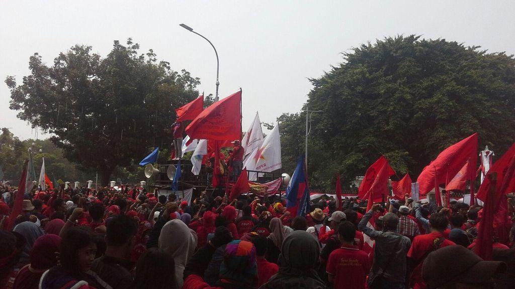 Ini Alasan Buruh Demo di Hari Sabtu