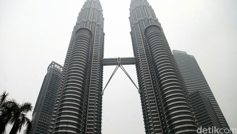 Menara Petronas di Kuala Lumpur (Agung Pambudhy/detikcom)