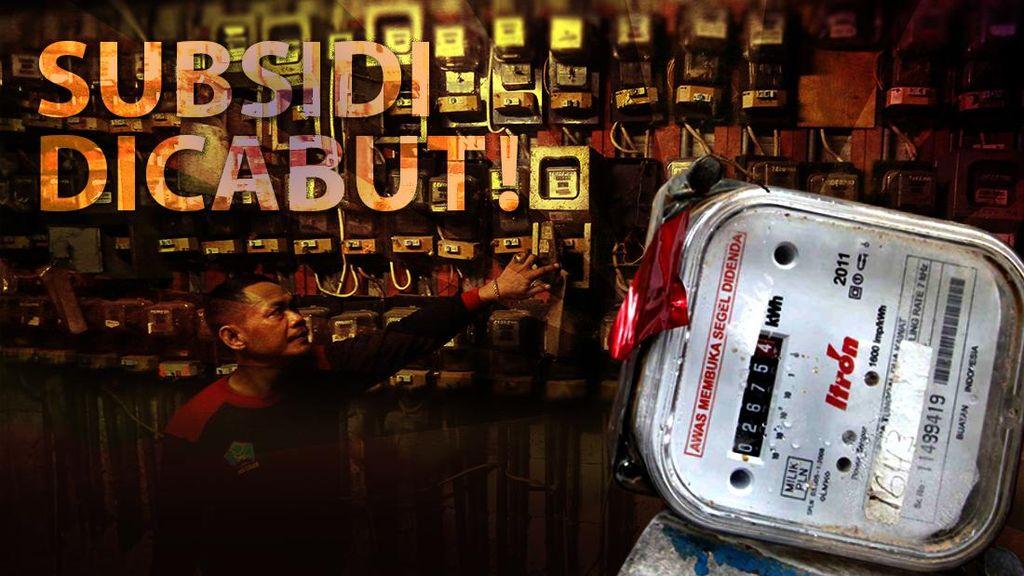 Subsidi Listrik Pelanggan 900 VA Dicabut, Masyarakat Miskin Rentan Bertambah