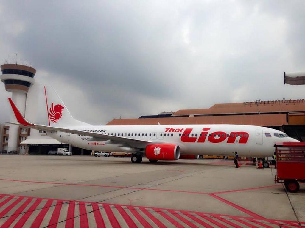 Thai Lion Air Kembali Layani Penerbangan ke 6 Tujuan Thailand