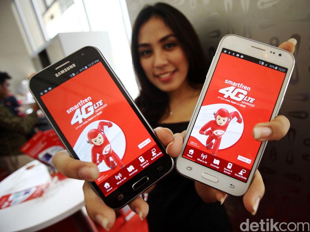 Upgrade! Smartfren Sediakan Layanan 4G+ Tembus 198 Mbps