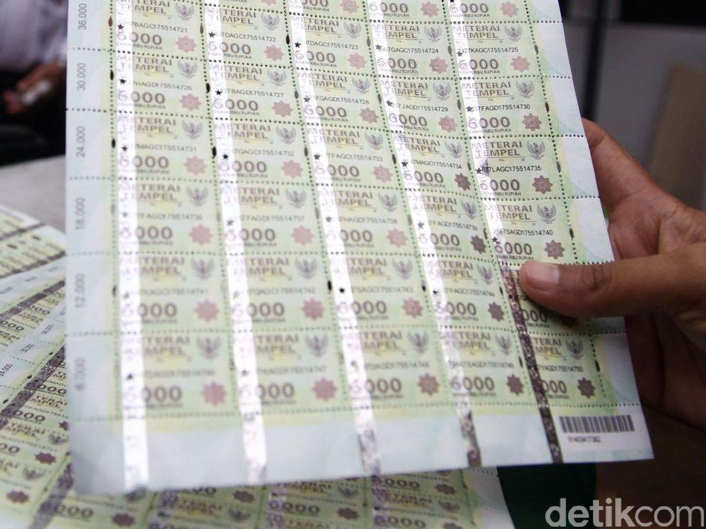 Catat! Ketentuan Bea Meterai Rp 10.000 yang Berlaku Awal 2021