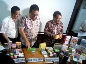 BPOM Temukan 20 Miliar lebih Kosmetik Ilegal dan Mengandung Zat Berbahaya