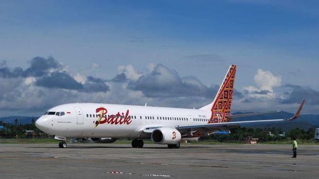 Ilustrasi Batik Air.