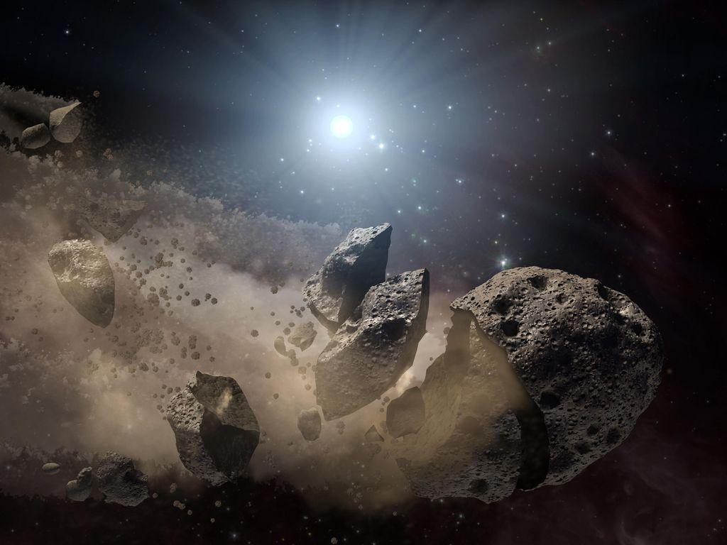 Wujud Asteroid Dewa Kekacauan dan Dampak Jika Hantam Bumi