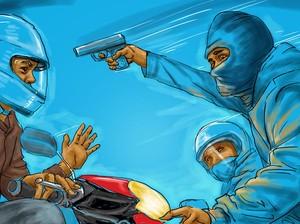 Baku Tembak Polisi dan Begal di Cipondoh, 8 Selongsong Peluru Ditemukan