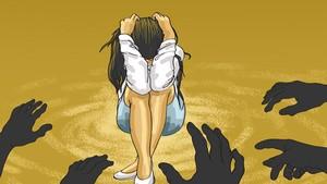 Bejat! Sopir Angkot Perkosa Penumpangnya di Depan Istri Sendiri