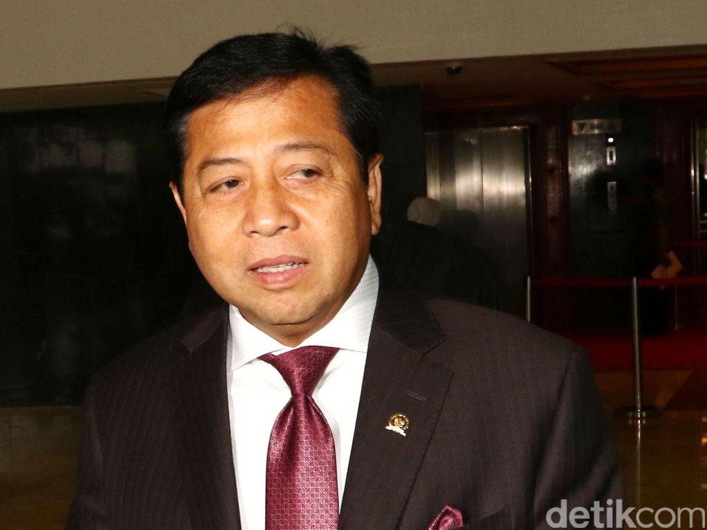 Bakal Jalani Sidang, Bagaimana Posisi Novanto sebagai Ketua DPR?