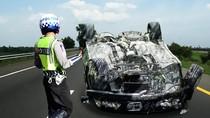 Kecelakaan Beruntun Libatkan 4 Mobil Terjadi di Tol Jagorawi, Lalu Lintas Macet