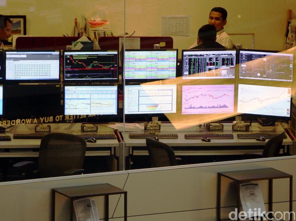 Mengekor Bursa Asia, IHSG Dibuka Hijau di 4.980