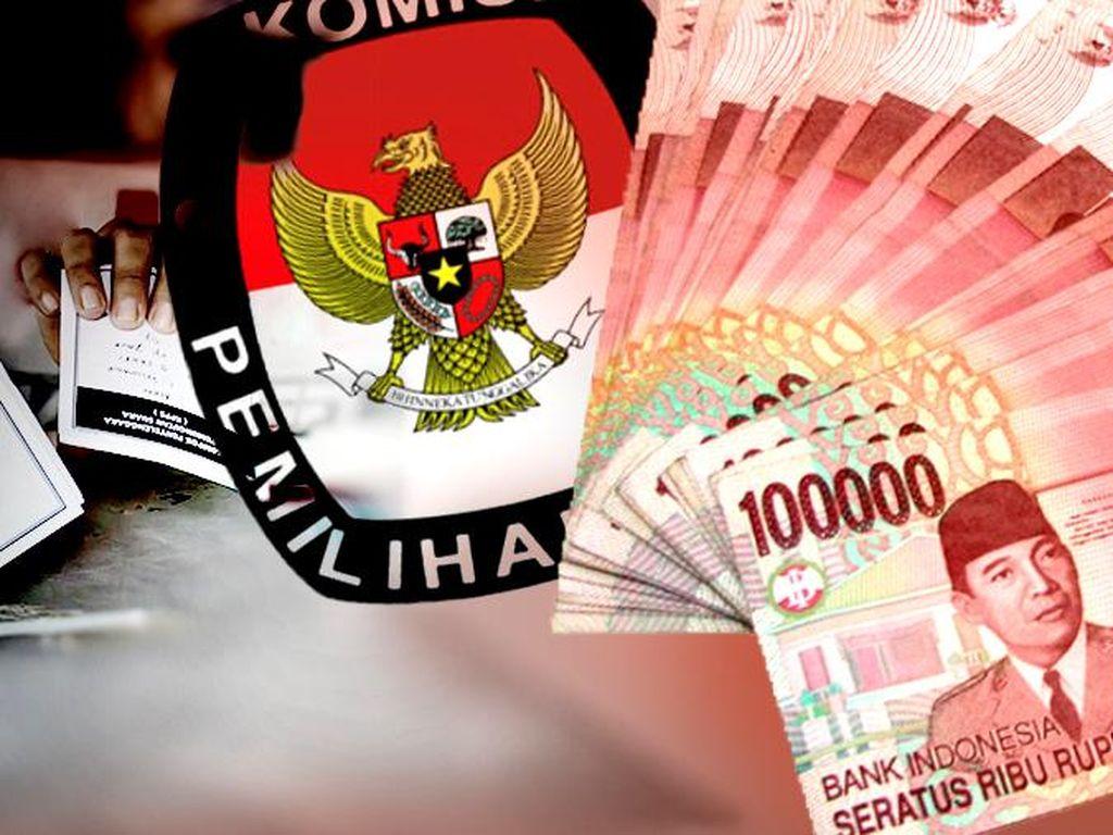 Cegah Politik Uang, Bawaslu DKI Patroli ke Posko Peserta Pemilu