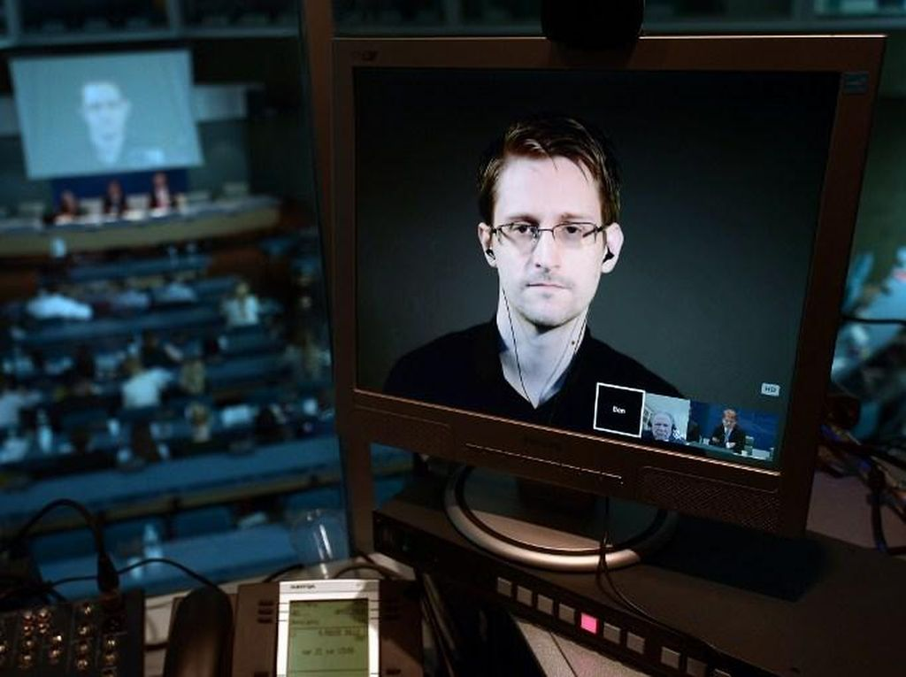 Kongres AS Sebut Edward Snowden Bukan Whistleblower