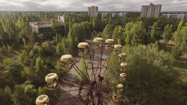 Kota Pripyat, Ukraina.