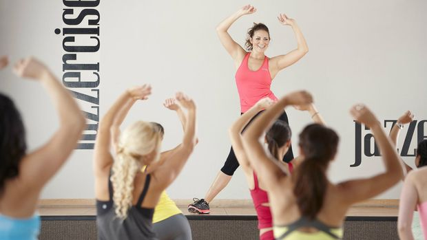 Olahraga Jazzercise, kombinasi aerobik dan jazz dance